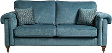 Argos Home Rebecca 3 Seater Fabric Sofa - Teal