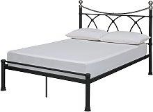 Argos Home Ricossa Double Metal Bed Frame - Black