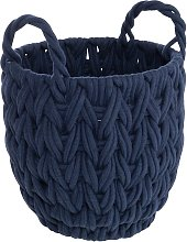 Argos Home Rope Storage Basket - Navy