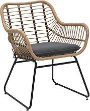 Argos Home Ross Rattan Effect Garden Chair