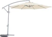 Argos Home Rotating Overhanging Garden Parasol -