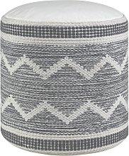 Argos Home Sahara Pouffe - Grey