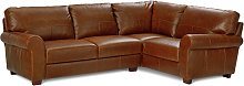 Argos Home Salisbury Right Corner Leather Sofa -