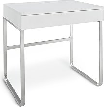 Argos Home Sammy 1 Drawer Desk - White Gloss
