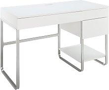 Argos Home Sammy 3 Drawer Desk - White Gloss