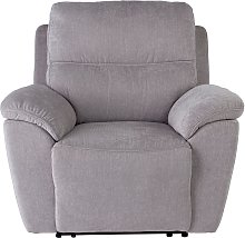 Argos Home Sandy Fabric Power Recliner Chair -