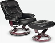 Argos Home Santos Recliner Chair and Footstool -