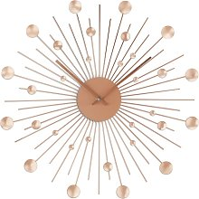 Argos Home Satellite Wall Clock - Rose Gold