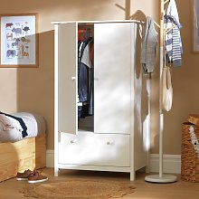 Argos Home Scandinavia 2 Door 1 Drawer Wardrobe -
