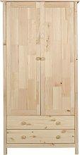 Argos Home Scandinavia 2 Door 2 Drawer Wardrobe -