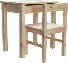 Argos Home Scandinavia Desk & Chair - Pine