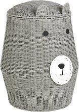 Argos Home Seagrass Bear Laundry Basket