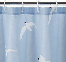 Argos Home Seagull Antibacterial Shower Curtain