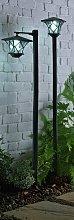 Argos Home Set of 2 Solar Lamp Posts
