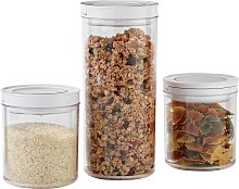 Argos Home Set of 3 Vacuum Food Storage Containers