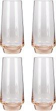 Argos Home Set of 4 Sahara Shot Glasses - Pink