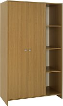 Argos Home Seville 2 Door Open Shelf Wardrobe -