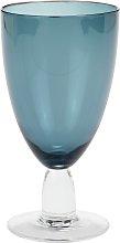 Argos Home Shibori Blue Wine Glasses - Set of 6