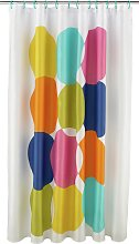 Argos Home Shower Curtain - Multicoloured Spots