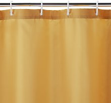 Argos Home Shower Curtain - Mustard