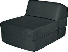 Argos Home Single Chair Bed - Jet Black