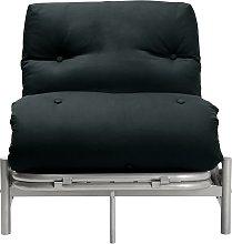 Argos Home Single Futon Metal Sofa Bed with