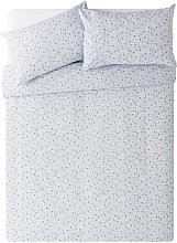 Argos Home Single Heart Bedding Set - Double