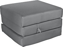 Argos Home Single Mattress Cube - Flint Grey