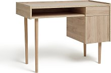 Argos Home Skandi 1 Drawer Desk - Oak Effect