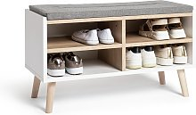Argos Home Skandi Shoe Bench
