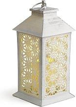 Argos Home Snowflake Battery Lantern