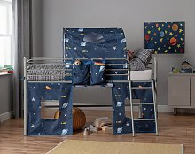 Argos Home Space Tunnel & Tent for Kids Mid Sleeper