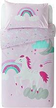 Argos Home Sparkle Unicorn Bedding Set - Toddler