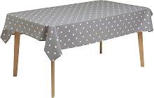Argos Home Star Wipe Clean Tablecloth - Grey