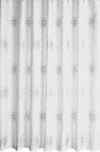Argos Home Starburst Shower Curtain - White