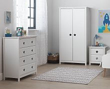 Argos Home Stars 3 Piece 2 Door Wardrobe Set -