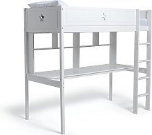 Argos Home Stars High Sleeper Bed, Desk and