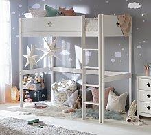 Argos Home Stars High Sleeper Bed Frame - White