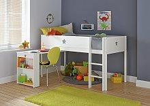 Argos Home Stars Mid Sleeper, Desk and Kids