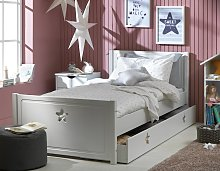 Argos Home Stars Single Bed and Silentnight