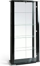 Argos Home Stella 2 Glass Door Display Cabinet -