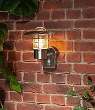 Argos Home Stern Stainless Steel PIR Lantern