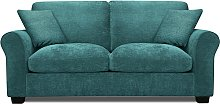 Argos Home Tammy 2 Seater Fabric Sofa bed - Teal
