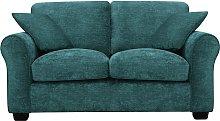 Argos Home Tammy 2 Seater Fabric Sofa - Teal