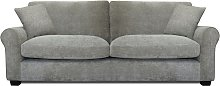 Argos Home Tammy 4 Seater Fabric Sofa - Mink