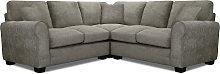 Argos Home Tammy Corner Fabric Sofa - Mink