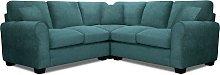 Argos Home Tammy Corner Fabric Sofa - Teal