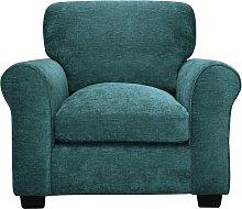 Argos Home Tammy Fabric Armchair - Teal