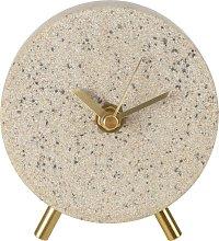 Argos Home Terrazzo Finish Mantel Clock