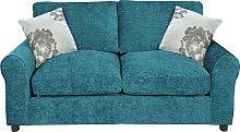 Argos Home Tessa 2 Seater Fabric Sofa Bed - Teal
